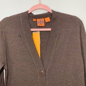 Tory Burch Sweaters - Tory Burch | Logo Button Long Sleeve Cardigan